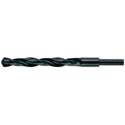 Vrták HSS 15 mm, rovná, zúžená stopka 10 mm do ocele, HELLER