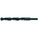 Vrták HSS 25 mm, rovná, zúžená stopka 13 mm do ocele, HELLER
