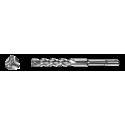 Vrták do betónu 10x260/200 mm SDS+, 3-britý-TRIJET, HELLER