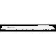 Pílový list do chvostovej píly na oceľ, nerez a hliník, HELLER