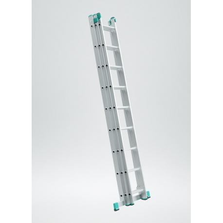 ALVE Rebrík 3-dielny 3x7