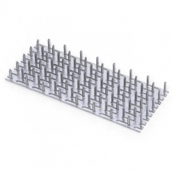 Styčníková doska 105x210x1,5 mm