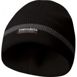 GEBOL Čiapka zimná reflexná THINSULATE čierna