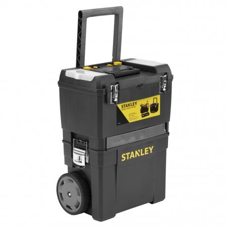 STANLEY box montážny pojazdný s kovovými petlicami