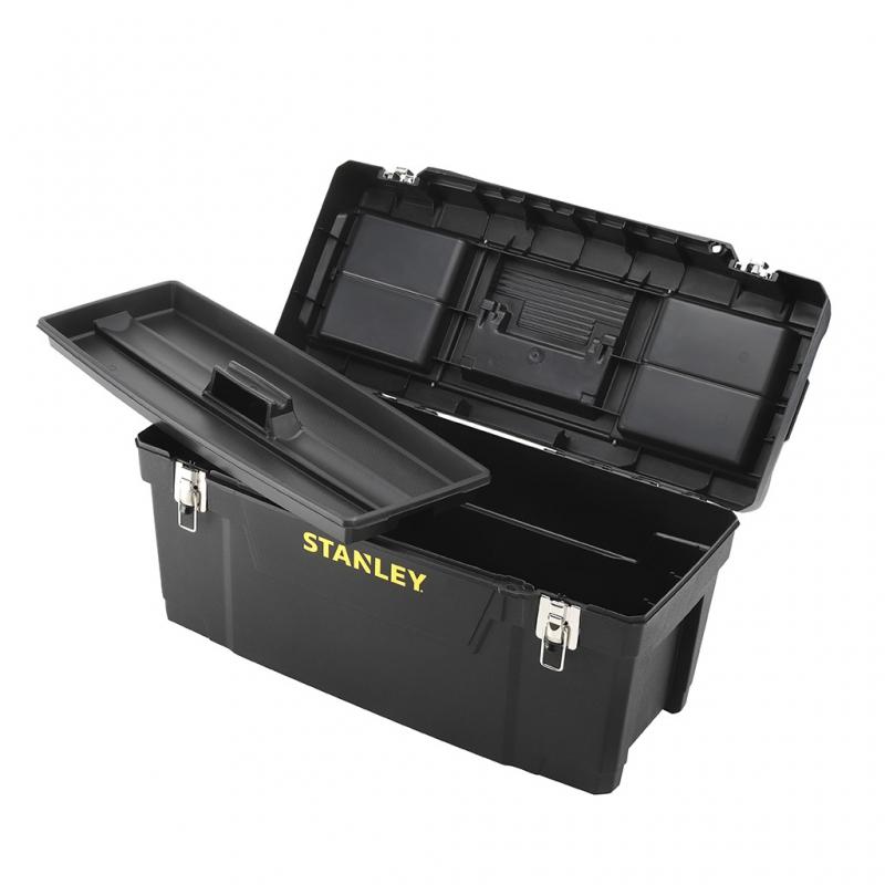 8cc7bc14997bd STANLEY Box na náradie 51x25x25 cm s kovovým uzáverom   BB-TECHNIK