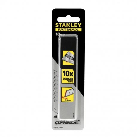 STANLEY Čepeľ zo zliateho karbidu 18mm FatMax 5ks/balenie