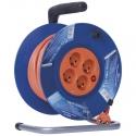 EMOS Kábel predlžovací 25m 4Z PVC bubon