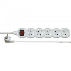 EMOS Kábel predlžovací 3m 5Z s vypínačom