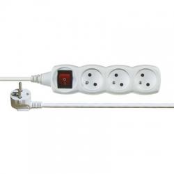 EMOS Kábel predlžovací 5m 3Z s vypínačom