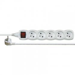 EMOS Kábel predlžovací 5m 5Z s vypínačom