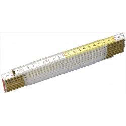 STANLEY Meter skladací drevený 2 m x 17 mm