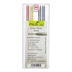 PICA Dry tuhy sada farebná 8ks