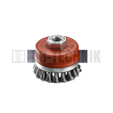 SIT kartáč hrnček vrkoč TU85 M14 Oceľ
