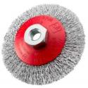 SIT Kartáč miskový vlnitý Ø120 mm M14 oceľ