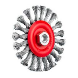 SIT Kartáč obvodový vrkoč Ø125 mm M14 oceľ