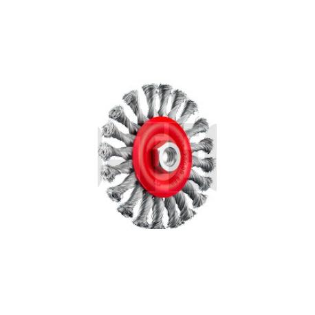 SIT Kartáč obvodový vrkoč U125 M14 Nerez