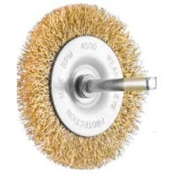 SIT Kartáč obvodový vlnitý Ø50 mm stopka pomosadzená oceľ