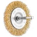SIT Kartáč obvodový vlnitý Ø75 mm stopka pomosadzená oceľ