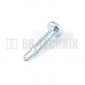 DIN 7504N-4 4,2x13 ZN samovrtná TEXA skrutka do plechu s polguľatou hlavou na 4-hran