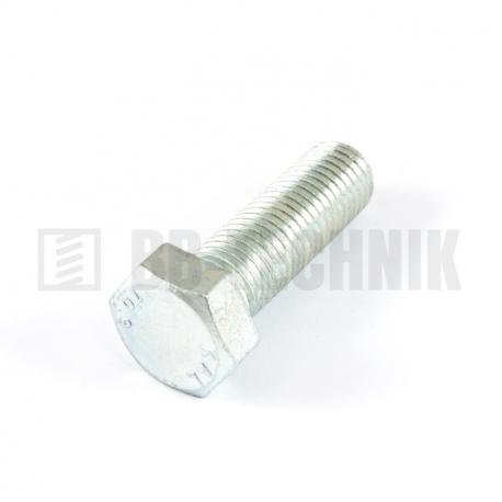 DIN 933 M 10x20 10.9 ZN skrutka so 6-hrannou hlavou s celým závitom