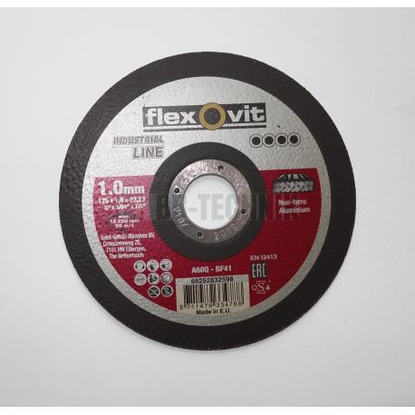 FLEXOVIT Kotúč rezný 125x1,0 HLINÍK