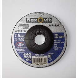 FLEXOVIT Kotúč brúsny 115x7,0 mm na oceľ