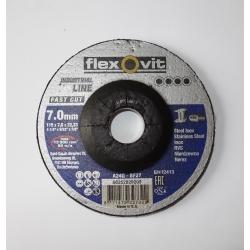 FLEXOVIT Kotúč brúsny 115x7,0-oceľ