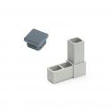 Plastové komponenty, krytky, spojky hliníkových profilov