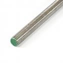 DIN 975 nerezové závitové tyče z nerezí triedy A2, A4 a mosadze