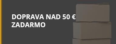 Doprava nad 50 EUR zadarmo