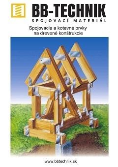 spojovacie a kotevne prvky na drevene konstrukcie